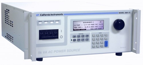 i-iX Series II 3KVA – 15KVA AC/DC Power Source with high performance power analyzer